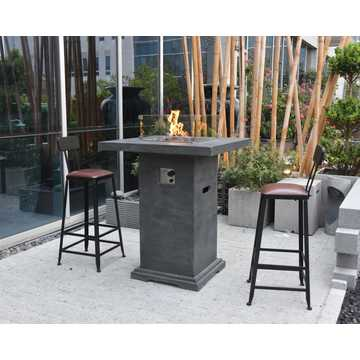 Montreal Bar Fire Table